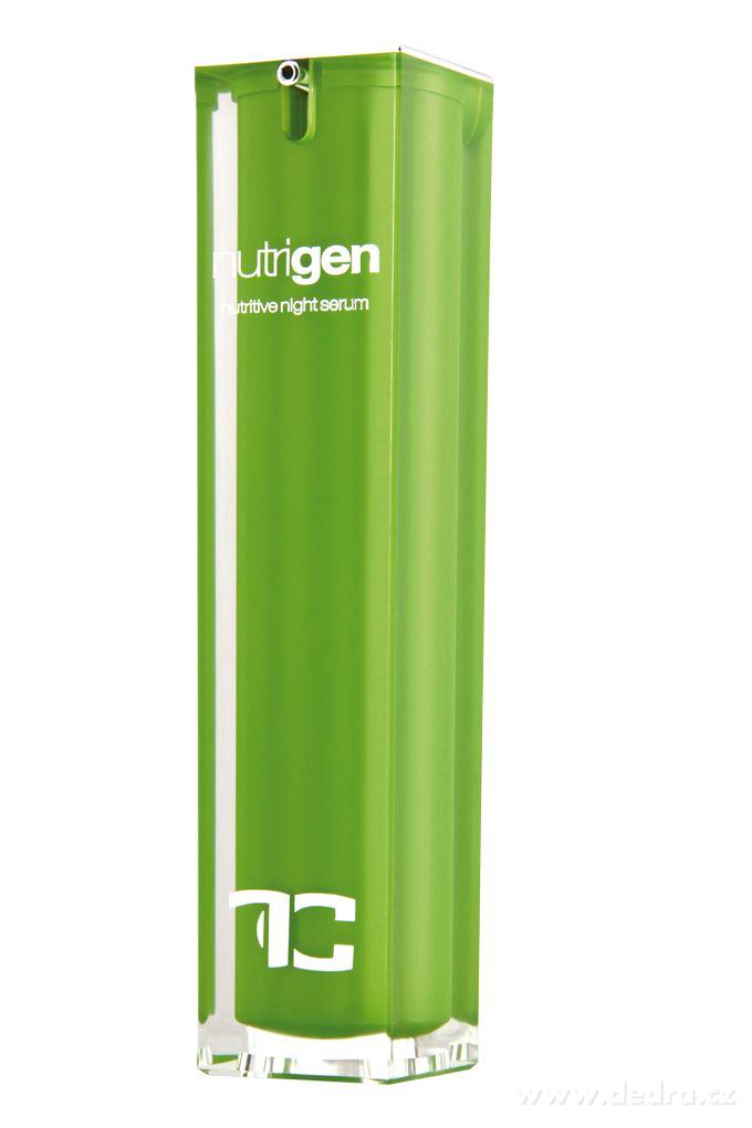 CANNABIUM nutrigen 2in1 nočný pleťový krém & sérum v jednom s konopným olejom