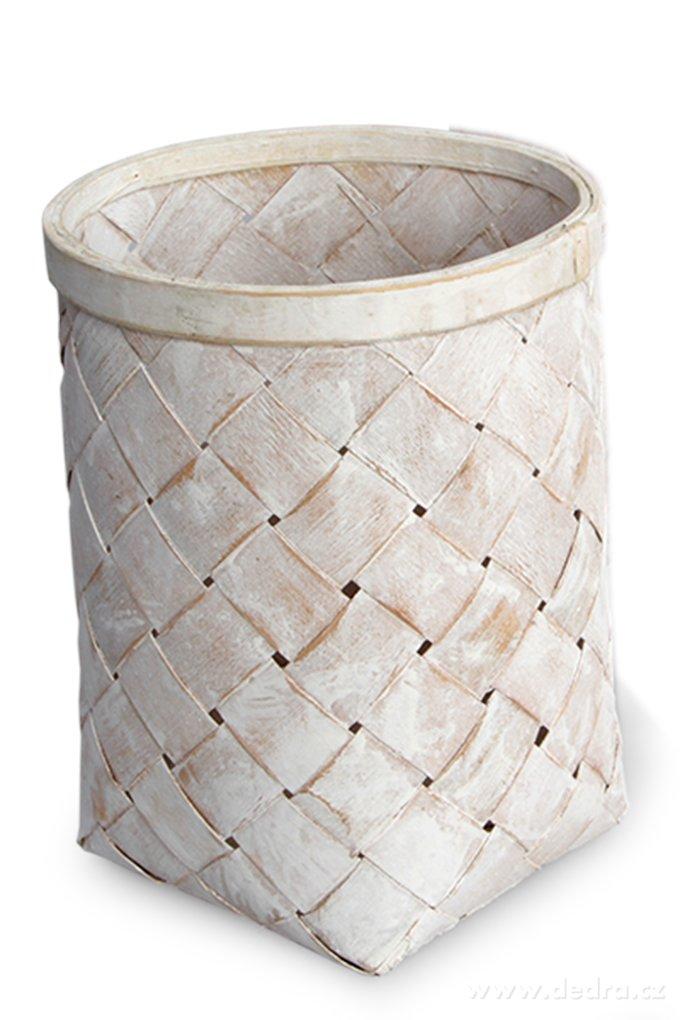 Splietaný kôš z bambusovej dyhy GoEco