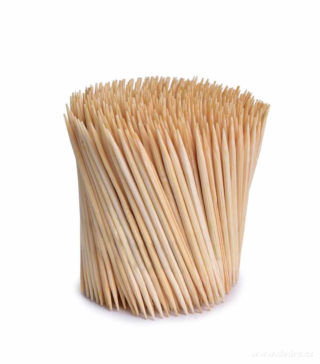 500 ks bambusové špáradlá GoEco®