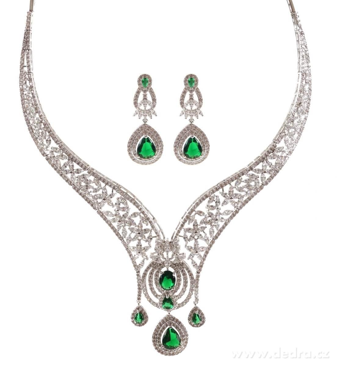 9d75e8f49 LUXUSNÍ SET, náhrdelník a náušnice - Vaše DEDRA - oficiálne stránky