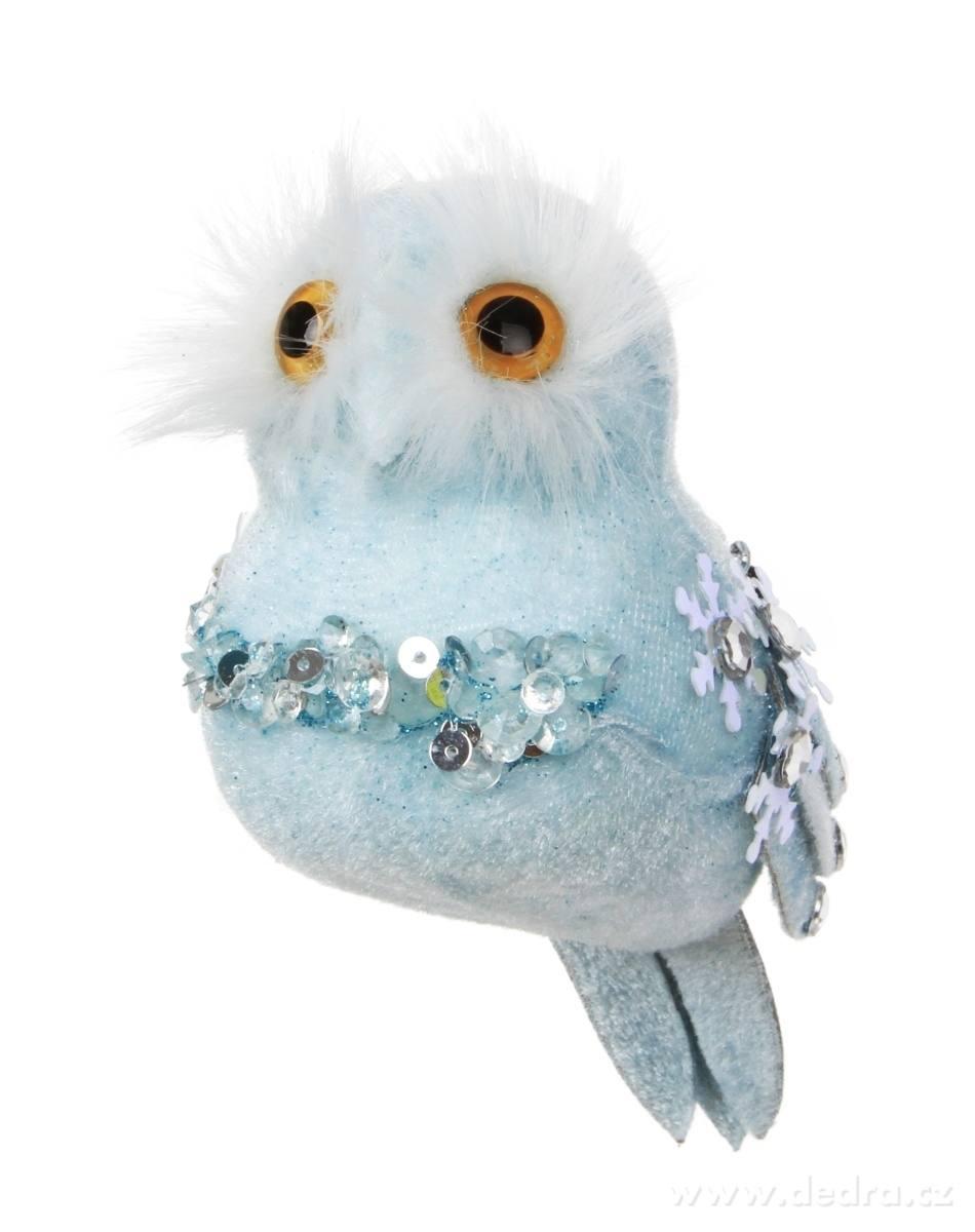 Modrý vtáčik WHITE&BLUE