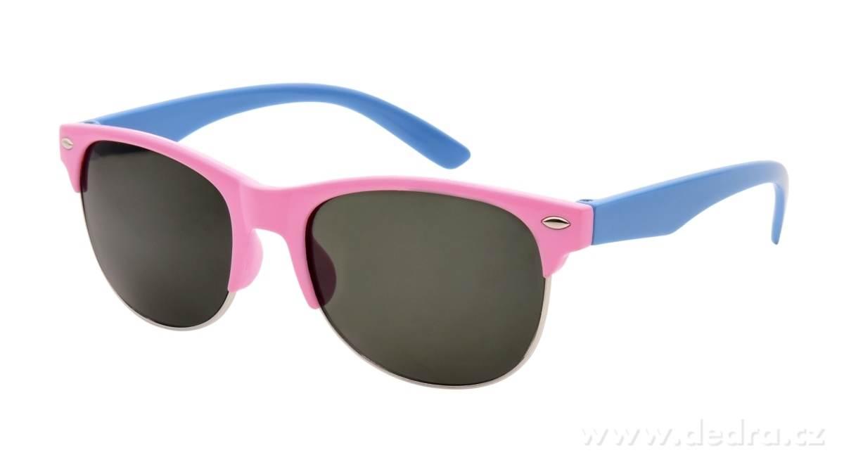 b57859b1658ac2 Okulary przeciwsłoneczne, dziecięce, różowo-niebieskie kod produktu: FC21582