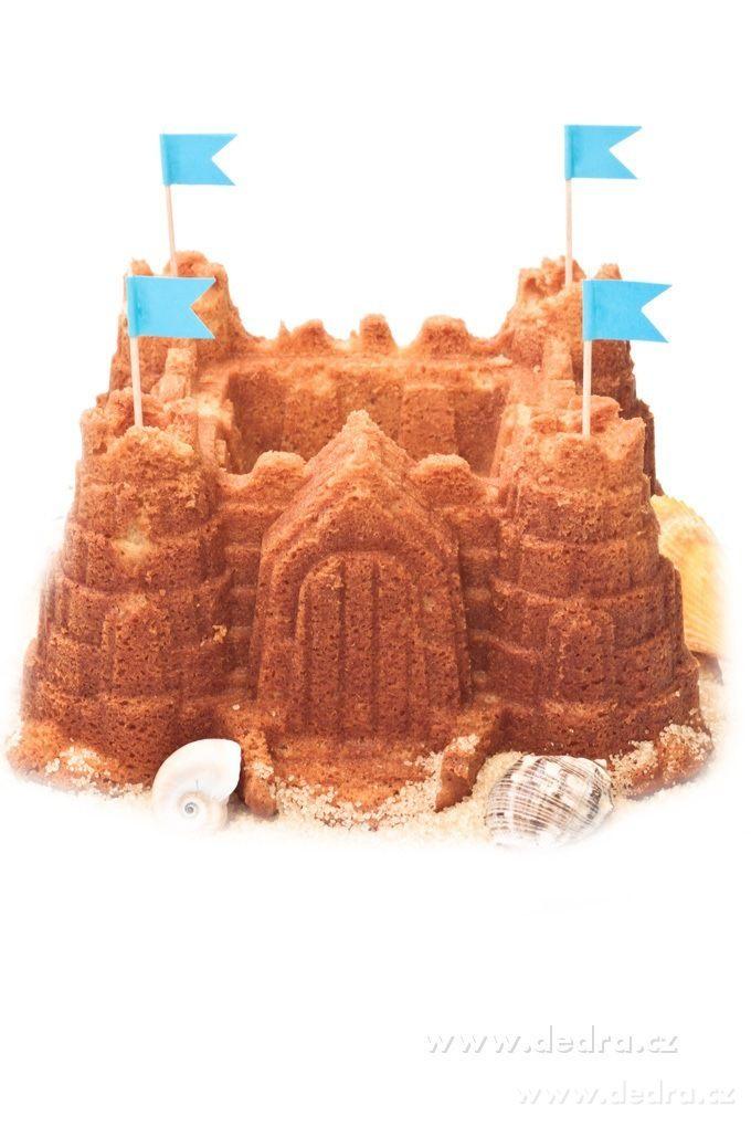 Forma na pečenie - XXL rozprávkový hrad