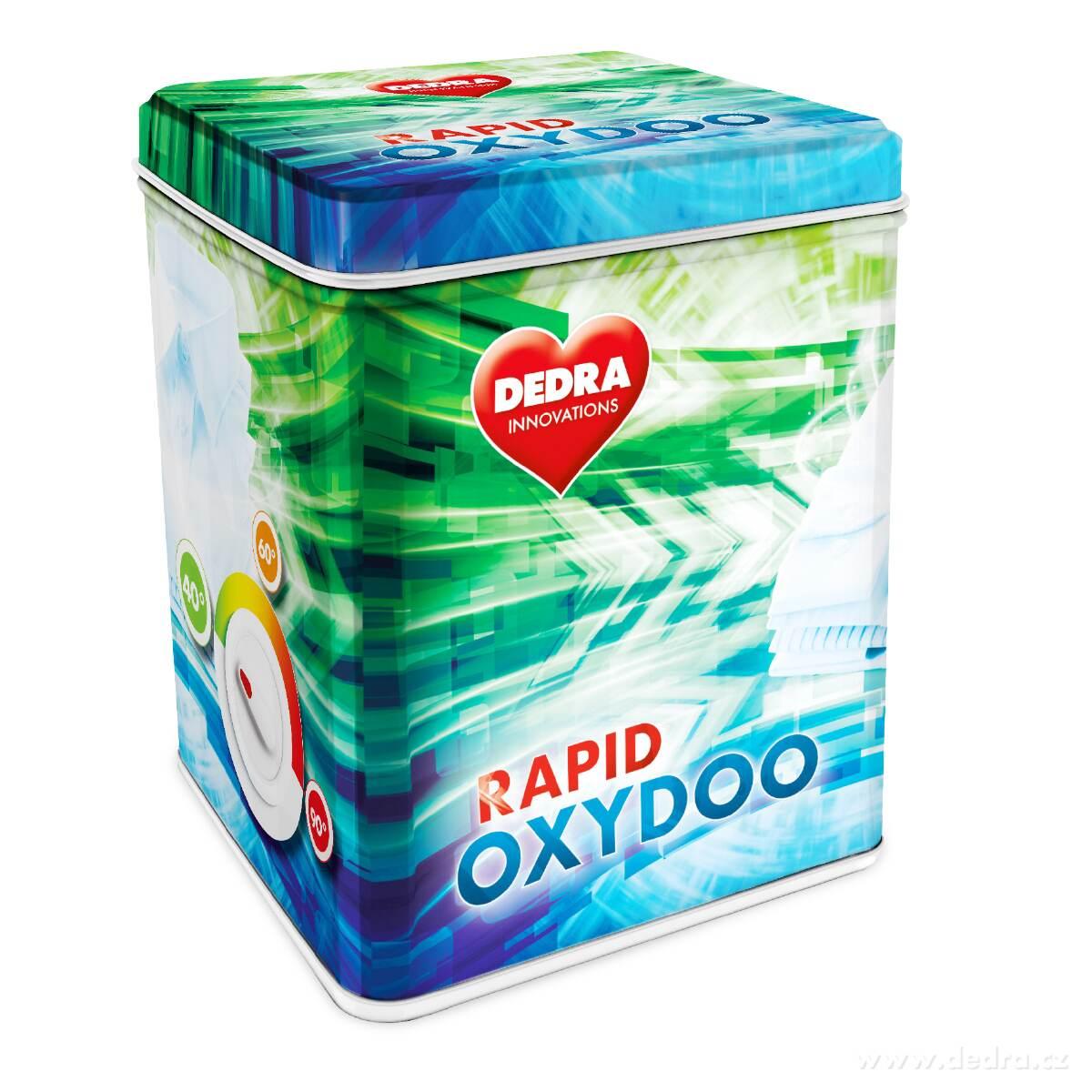 OXYDOO RAPID univerzálne bielidlo na báze aktívneho kyslíka + dóza ZADARMO