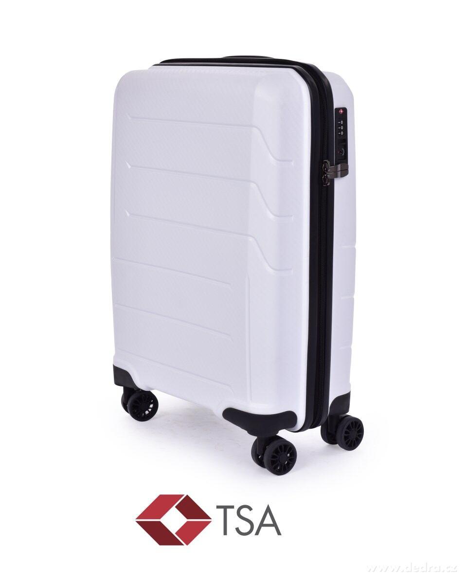8c0ac09e71aee TSA Walizka mała, WHITE, 36 x 20 x 56 cm kod produktu: FC24951