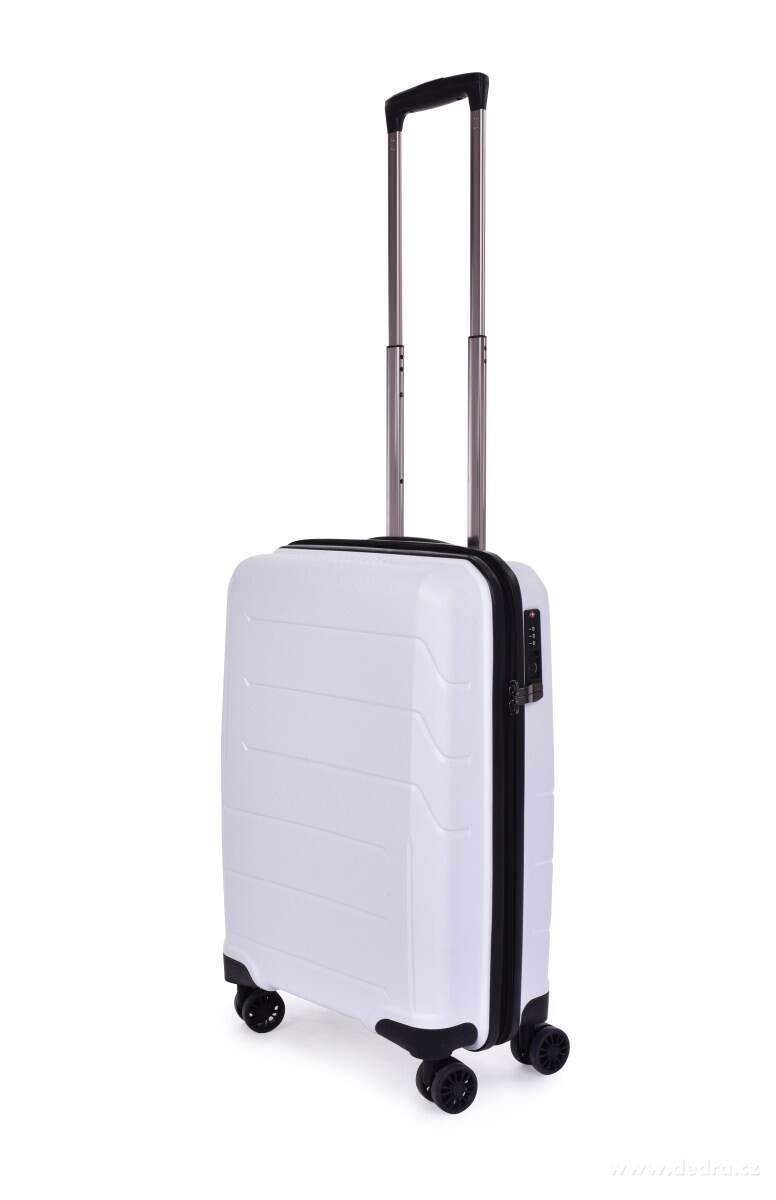 989d32eb3fe19 TSA Walizka mała, WHITE, 36 x 20 x 56 cm - MojaDEDRA.pl