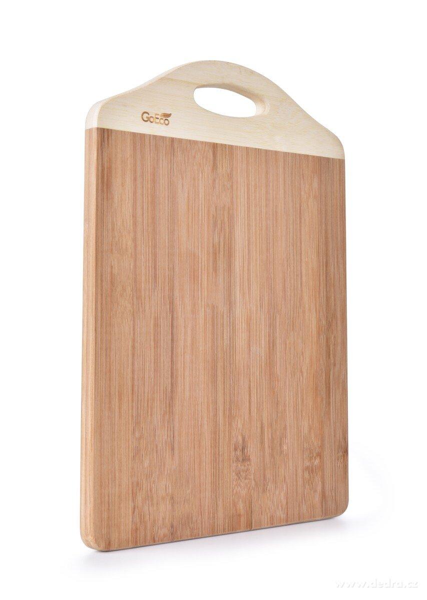 Bambusová doska na krájanie z vysokotlakového bambusu GoEco®