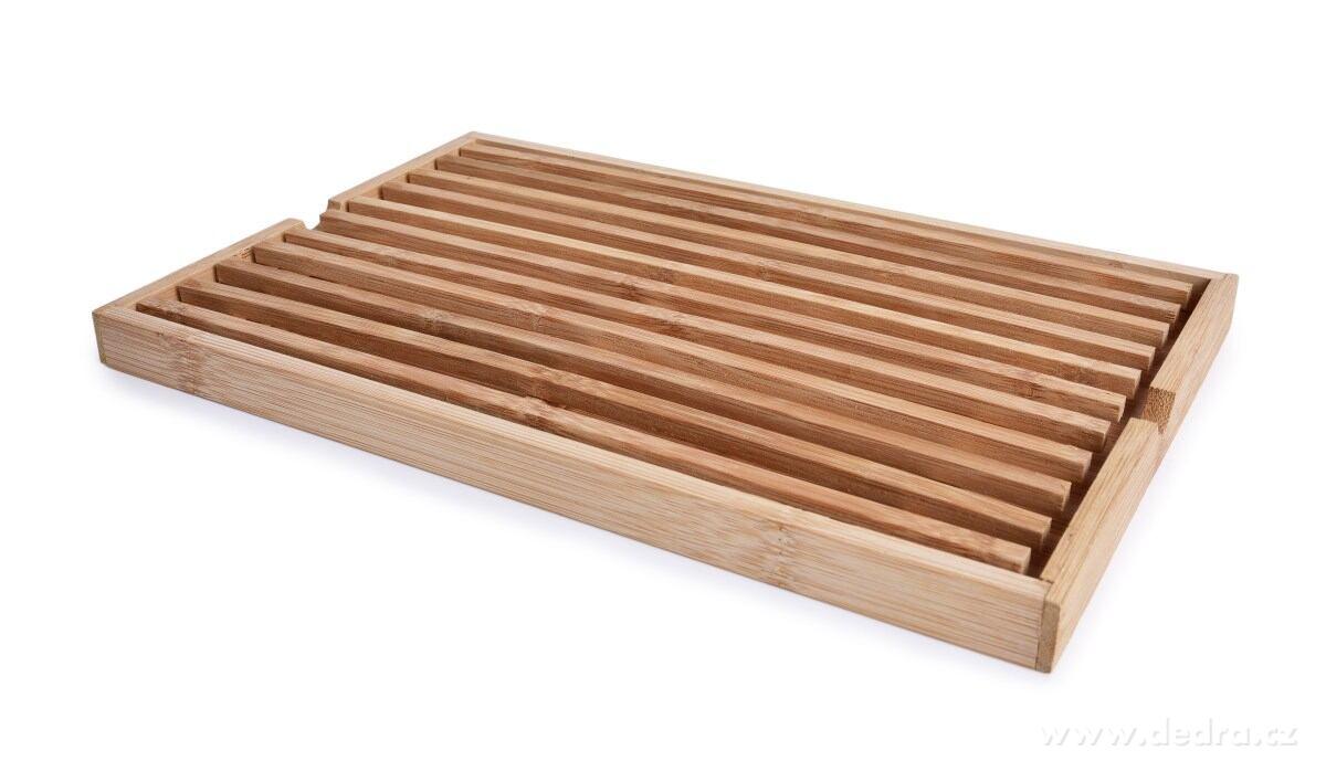 Bambusová doska na krájanie pečiva GoEco®