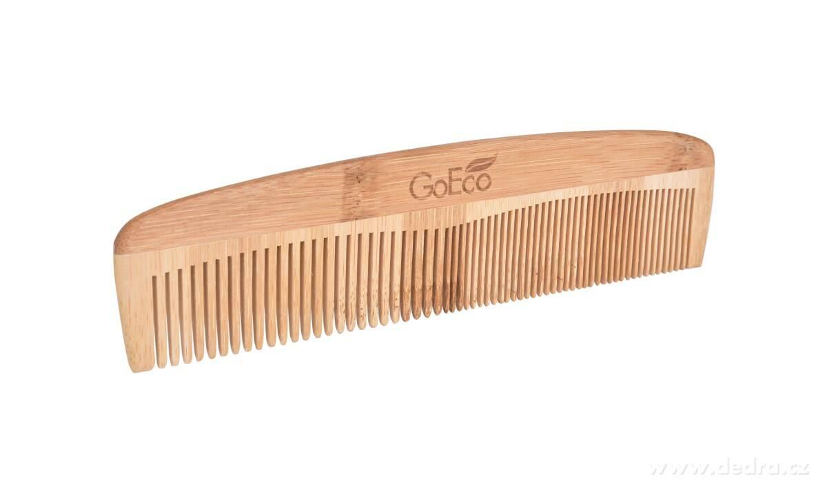 Bambusový hrebeň na vlasy GoEco®