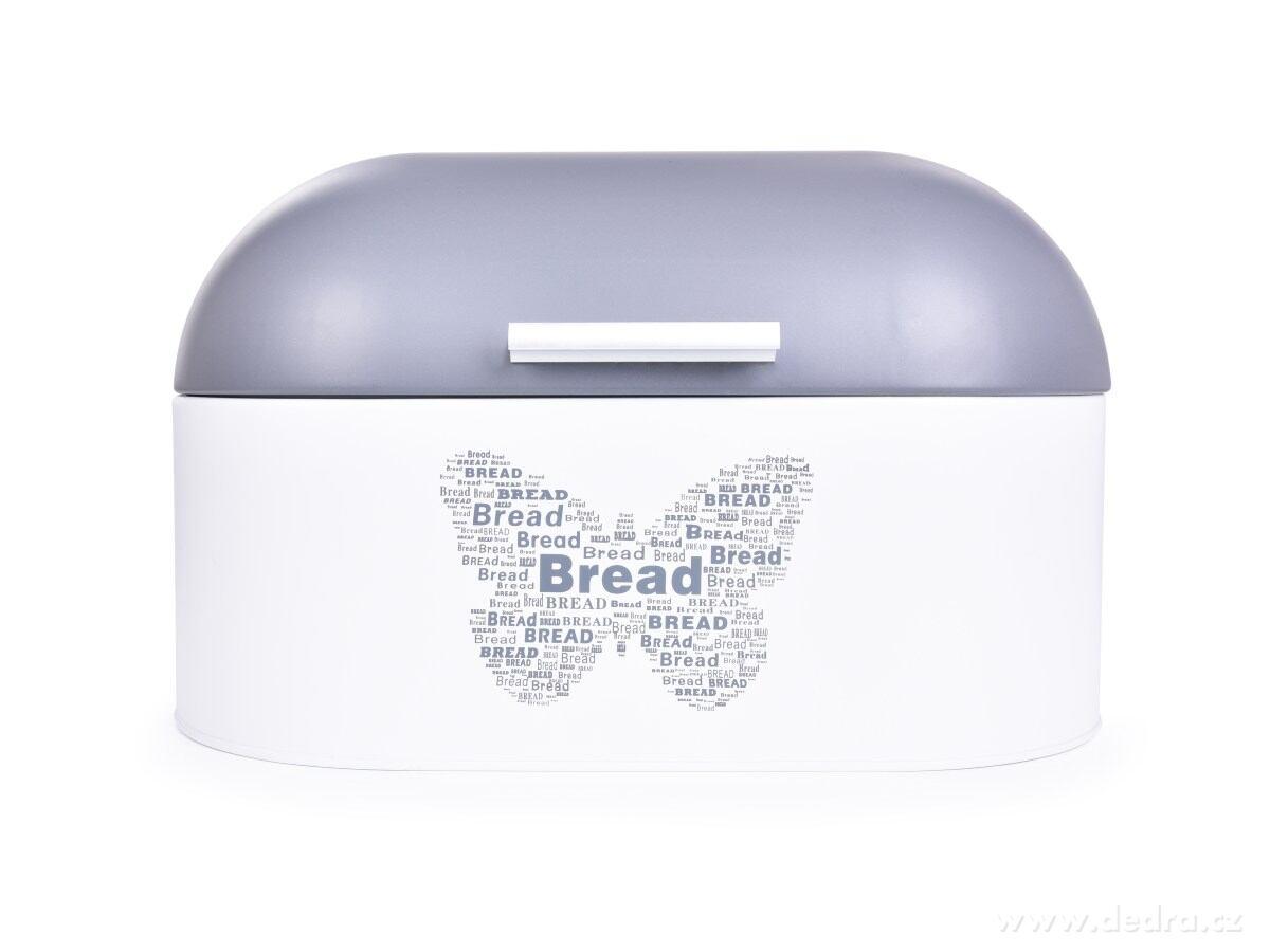 Kovový chlebník MOTÝĽ