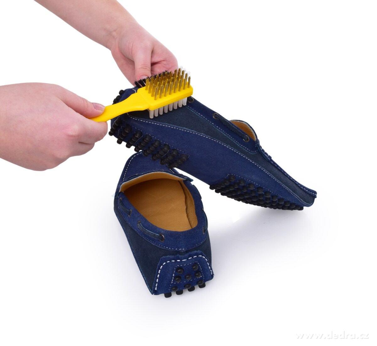 3v1 KEFKA na brúsenú kožu (nubuk), semiš a velúr, na topánky i odev