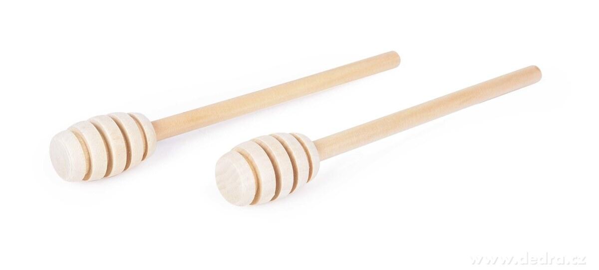 2 ks medolyžička na med z bukového dreva GoEco®
