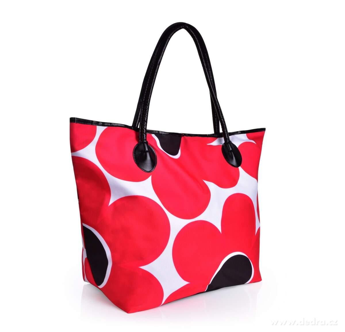 Veľká taška na zips DAISY FLOWERS