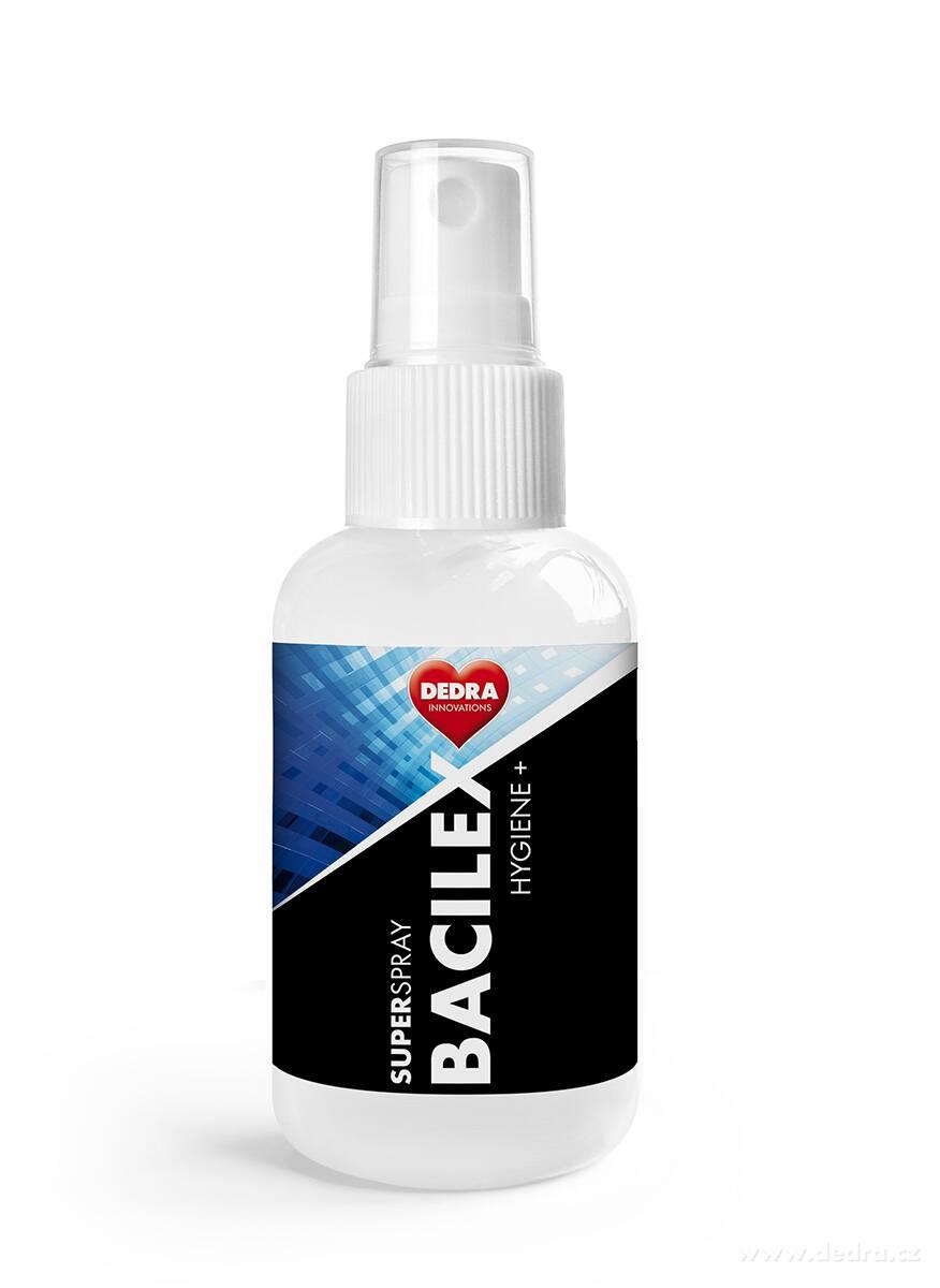 70% alkoholový superčistič hladkých plôch SUPERSPRAY BACILEX HYGIENE+
