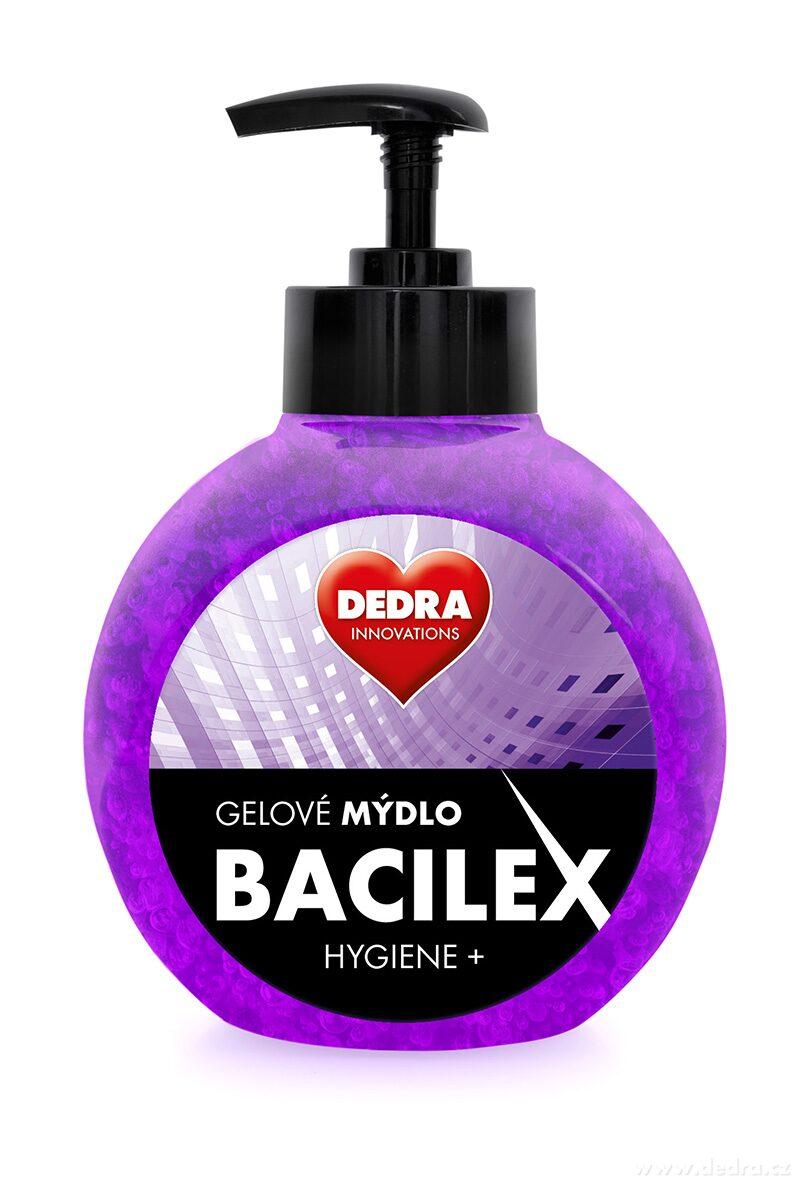 Gélové mydlo BACILEX HYGIENE+ s antimikrobiálnou prísadou