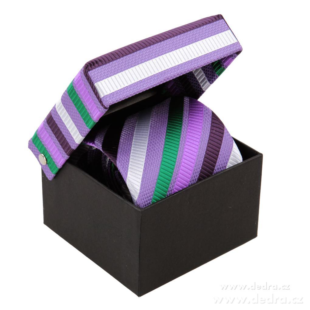Etienne pánská hodvábna kravata