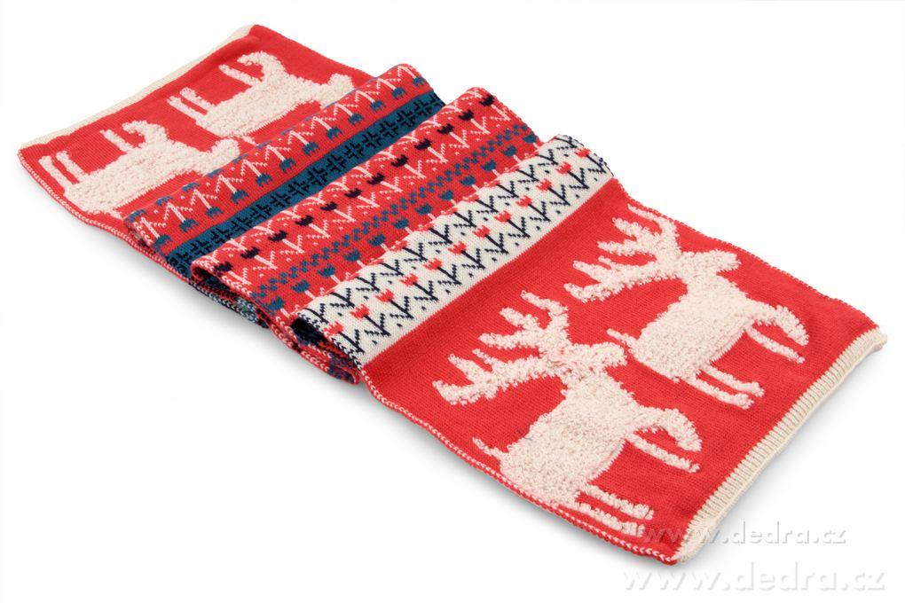XXL pletený šál